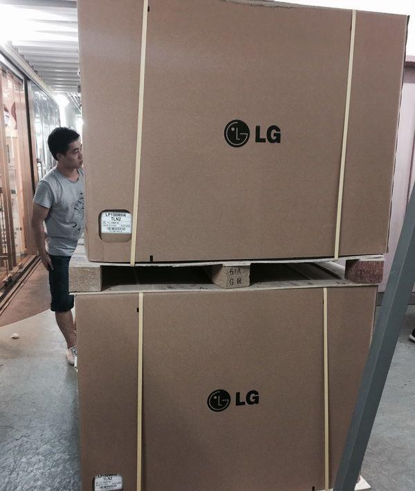 Упаковка LG